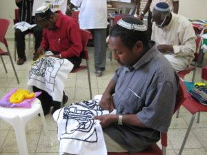Ethiopians handcrafting 007